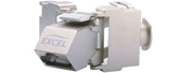 Excel Keystone Cat6A Jacks
