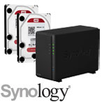 Synology DS218Play with WD Red Hard Drives