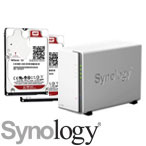 Synology DS218j with WD Red Hard Drives