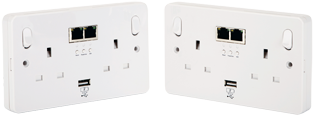 WiFi CONNEkT Powerline Sockets