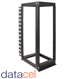 apc netshelter 2 post open frame rack