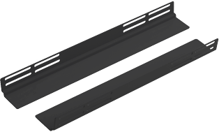 Usystems 4210 400mm Deep Chassis Runners - for 600mm Deep cabinets