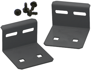 Usystems 4210 Bolt Down plate (pair) (Floor fixings not included)