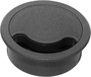 5 Pack Circular Floor Cable Grommet - 102mm (4 in)