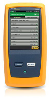 Fluke Networks DSX-8000 CableAnalyzer Copper Module