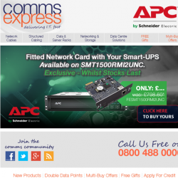 Exclusive Fitted Network Card with Your APC SmartUPS