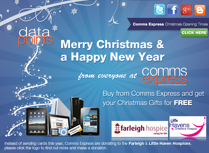 Merry Christmas & a Happy New Year from Comms Express