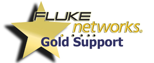 Fluke Networks 1 Year Gold Support for CFP-100M or CFP-100-S