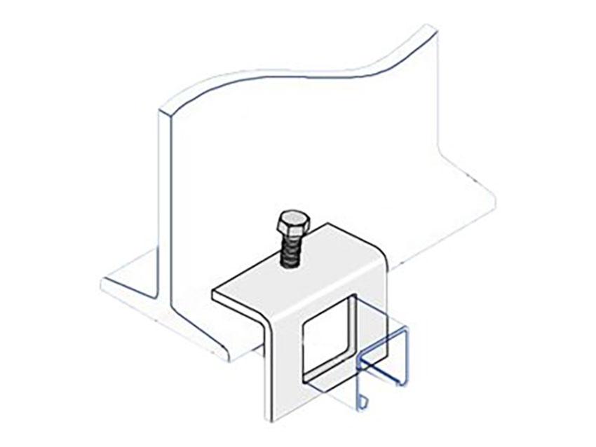 Unistrut P1796 Unistrut Steel Window Bracket Beam Clamp Hot Dip Gal