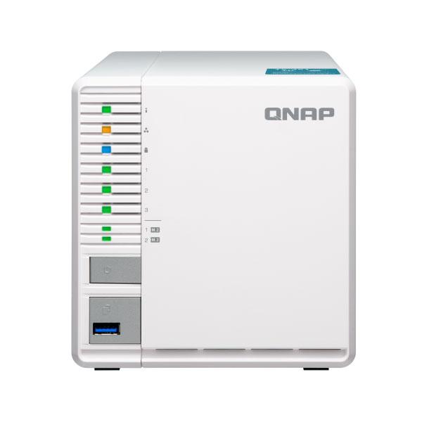 QNAP TS-351-4G 3 Bay 4GB Diskless Desktop NAS | Comms Express