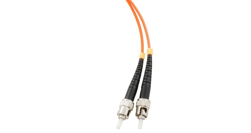 ce st - sc connector multimode duplex fibre patch leads  125