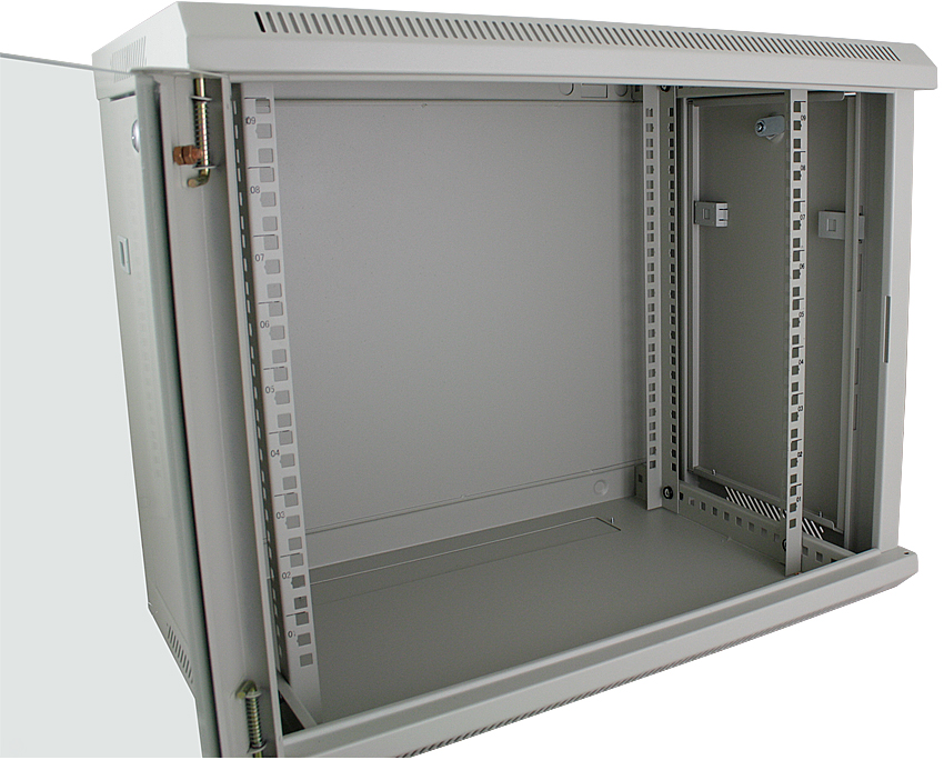 Datacel 9u Wall Mounted Data Cabinet Data Rack 390mm Deep