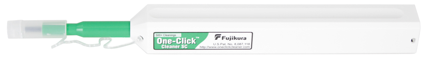 Fujikura One-Click Cleaning Pen SC - SC, ST, FC, and UPC