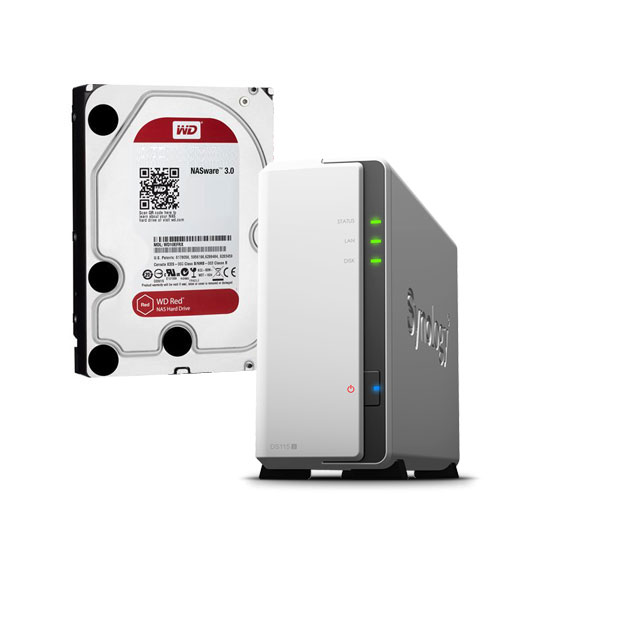 Synology Diskstation DS119j with 2TB WD       Comms Express