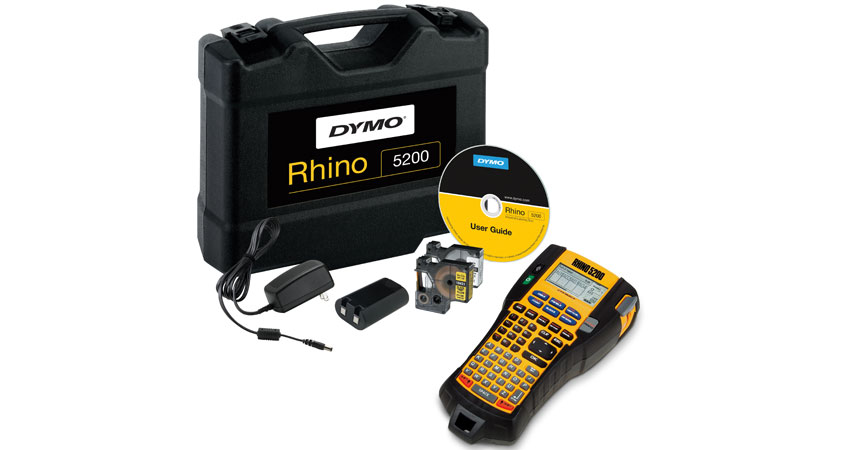 Dymo Rhino 5200 Label Printer - Hard Case Kit
