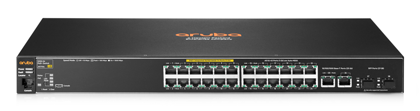 Hpe Aruba J9779a Aruba 2530 24 Poe Switch 24 Port 10