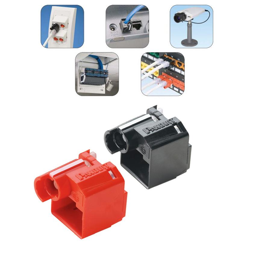 Psl Dcplx Bl Rj45 Plug Lock In Device Available I