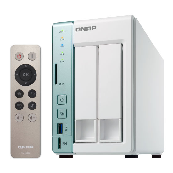 QNAP TS-251A-2G 2-Bay NAS with 2GB DDR3 RAM