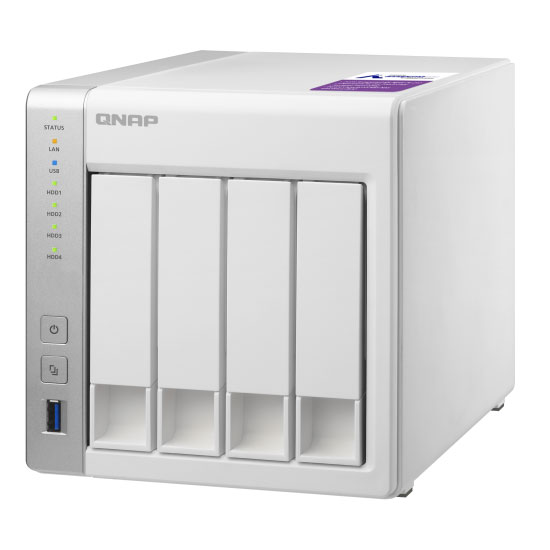 QNAP TS-431P2 4-Bay NAS with 4GB DDR3 RA    | Comms Express