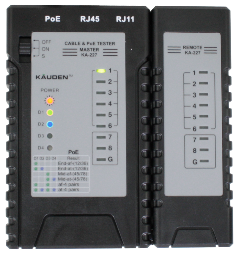 poe structured wiring cable tester structured wiring cable tester rh comms express com