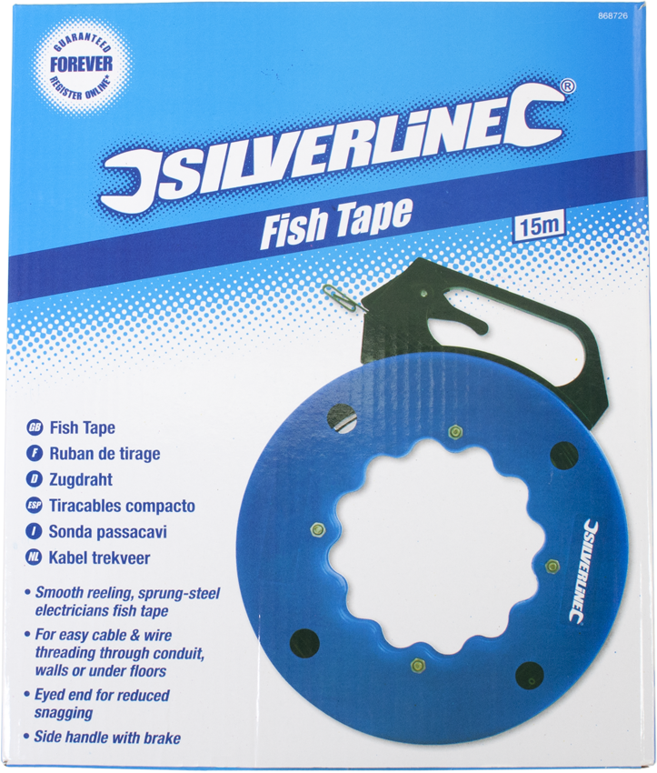 Spring Steel Fish Tape | Comms Express