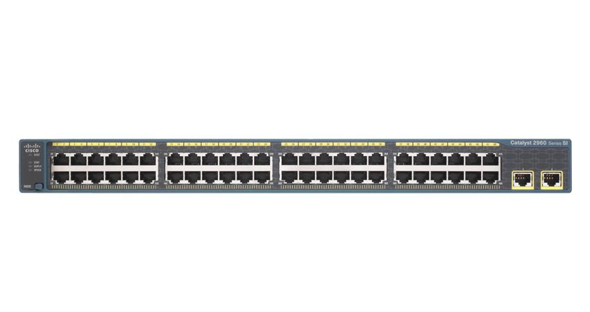 CISCO WS-C2960-48TT-S Catalyst WS-C296048TT-S Switch - 48 Ethernet