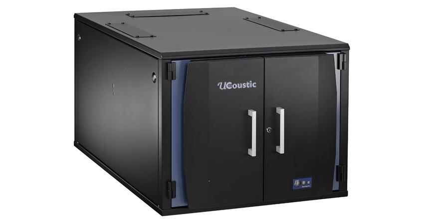 Usystems 12u 1100mm Deep Ucoustic 9210 Sound Proof Server