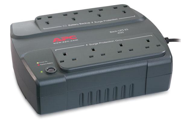 APC BE400-UK Back-UPS 400VA