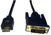 FastFlex 5m Black HDMI to DVI Cable
