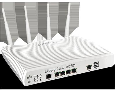 Draytek V2862AC-K Vigor 2862 VDSL/ADSL Router/Firewall & 5 Port Gig...