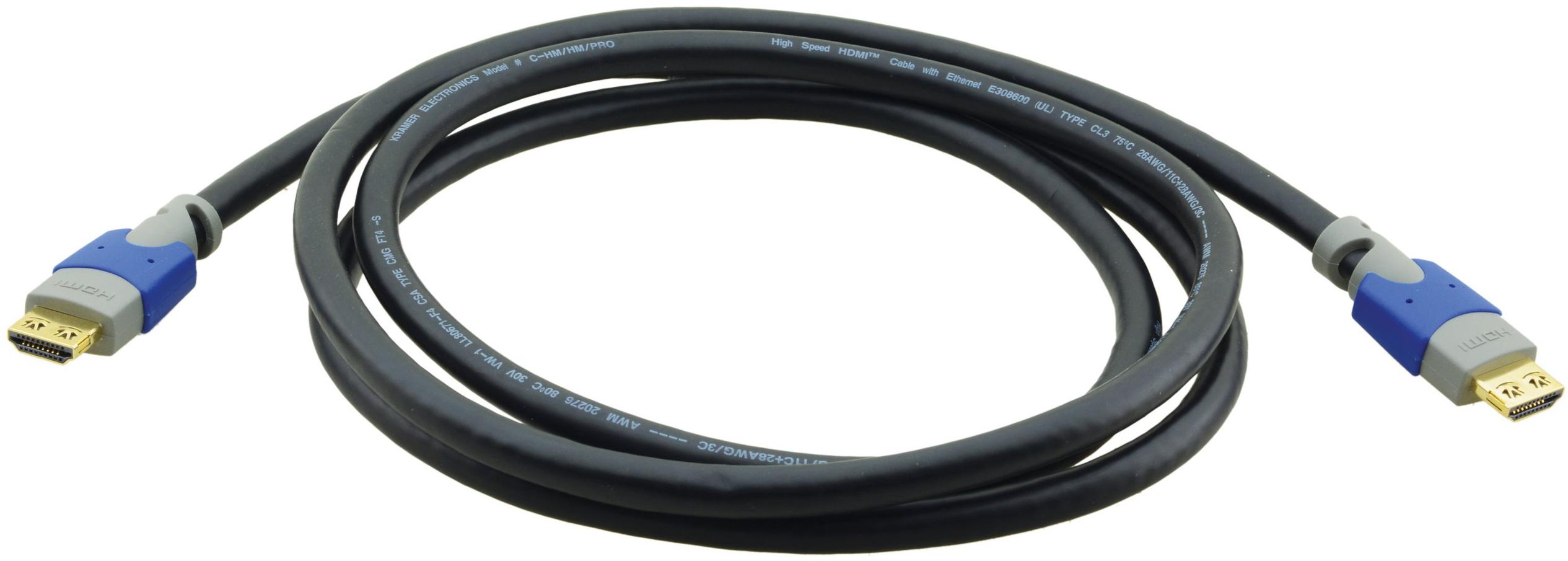 Kramer LSHF 4K Fibre-Optic HDMI M-M Cable - 98ft