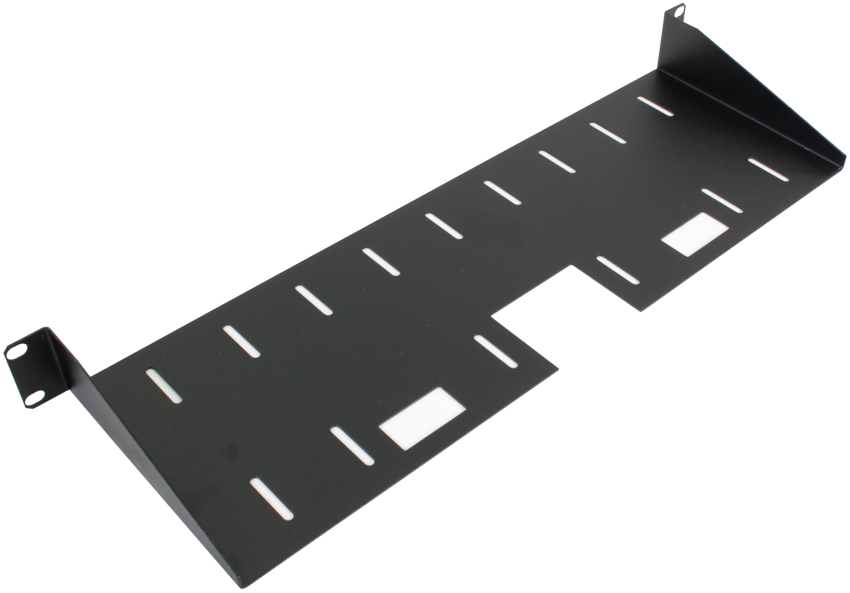 150mm Deep Front Mounting Modem Shelf (1u)