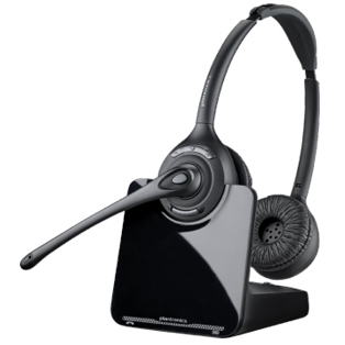 Plantronics CS520, Over the Head, Binaural