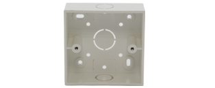 CE Single Gang Surface Mount Back Box