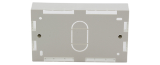 CE Double Gang Surface Mount Back Box (32mm)