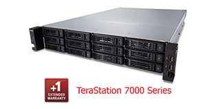 Buffalo Extended Warranty 1 year - TS7000 series (up to 48TB)