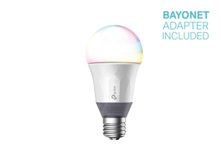 TP-Link LB130 Smart Wi-Fi LED Bulb with Colour-changeable Light