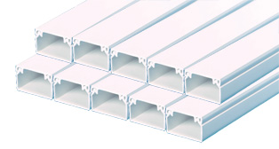 16 x 25mm PVC Trunking (10 x 3mts)