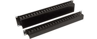 19 Inch Rackmount Cable Dump Panel