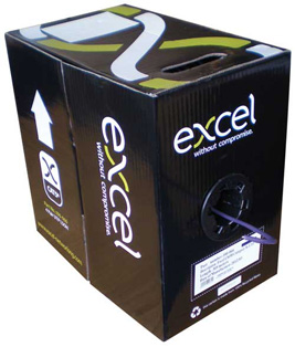 Excel Cat5e Cable U/UTP Dca LS0H 305m Box