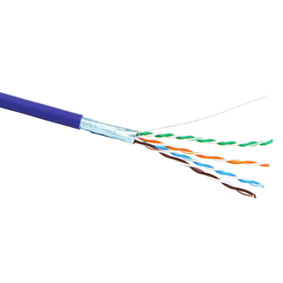 Cat5e Shielded LSOH 4 Pair Cable - 305mt box