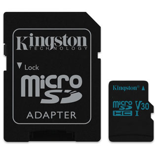 Kingston Technology Canvas Go! memory card 128 GB MicroSDHC Class 10 UHS-I