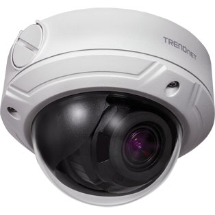 TRENDnet TV-IP345PI Indoor / Outdoor 4 MP Varifocal PoE IR Dome Network Camera