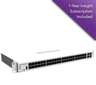 Netgear GC752X-100EUS Insight Managed 52-port 1G Smart Cloud Switch