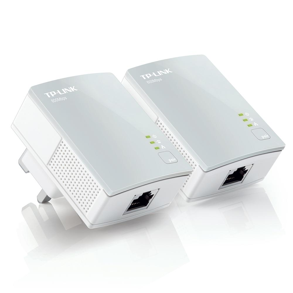 TP-Link TL-PA4010KIT V1.20 AV600 600 Mbps Nano Powerline Adapter Starter Kit
