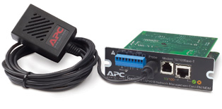 APC UPS Network Management Card w/ Environmental Monitoring & Out of Band Management