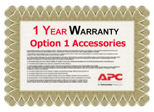 APC 1 Year Warranty Extension for Accessories Option 1