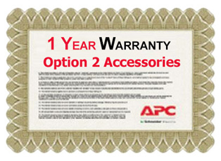 APC 1 Year Warranty Extension for Accessories Option 2