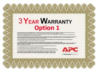 APC Service Pack 3 Year Extended Warranty for Concurrent Sales (Option 1)
