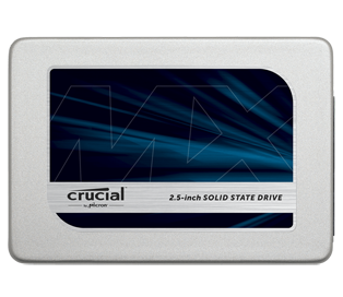 Crucial 2TB MX300 SATA 2.5inch 7mm Internal SSD with 9.5mm adapter